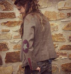 customisation d'une veste classique