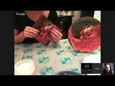 #МК Инна Смирнова-декупаж тарелочки. Ручная работа - YouTube