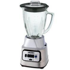 Oster BCBG08-C 6-Cup Glass Jar 8-Speed Blender  Brushed Nickel: http://www.amazon.com/Oster-BCBG08-C-8-Speed-Blender-Brushed/dp/B003ZDNILC/?tag=httpbetteraff-20