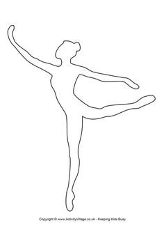 Ballerina template 1
