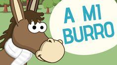 Canciones infantiles | A mi burro | Toobys