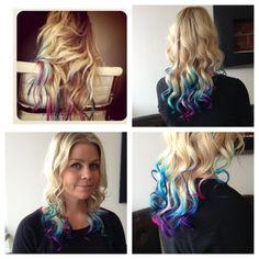 Pinterest inspired hair color!!