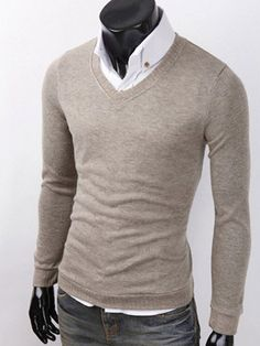 love the combo of the fitted basic button-up and the fitted sweater