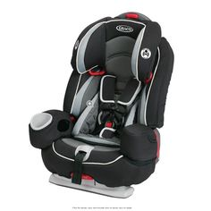 The versatile Graco Argos 80 Elite 3-in-1 Car Seat grows with your child and may be the only car seat that you will ever need! This ultra-safe car seat can be used for children weighing up to 80 lbs. www.rightstart.com