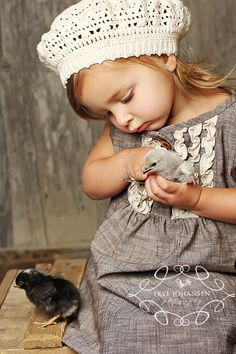 Love love love! So cute! I must make a hat like this and have a little girl to wear it ;D