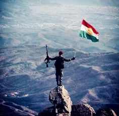 Peshmerga and Kurdish Flag! . Pin by lina A.Salahaddin