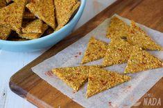 Crackers de garbanzo y pimentón - No me comes nada