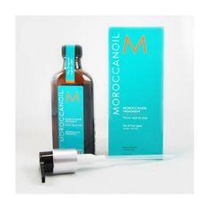 Moroccan Oil Hair Treatment 3.4 Oz Bottle with Blue Box 3.4 oz. Has Argan oil. No Alcohol.  #Moroccanoil #Beauty