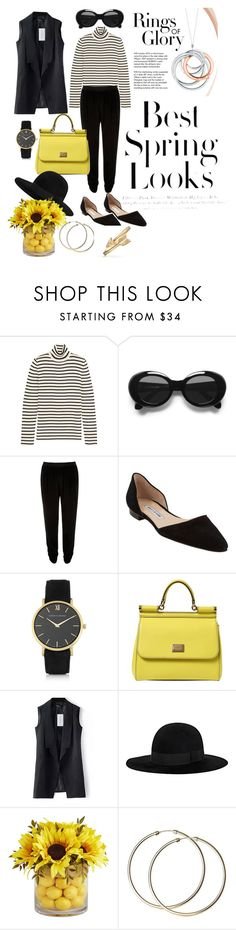 Untitled #29 by soffiekvaliashvili on Polyvore featuring Yves Saint Laurent, River Island, Manolo Blahnik, Dolce&Gabbana, Bling Jewelry, Larsson & Jennings, Acne Studios, Pier 1 Imports, Tiffany & Co. and H&M