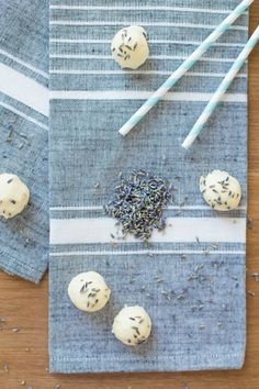 white chocolate lavender truffles. want. now.