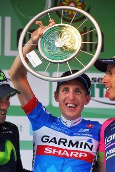 #IlLombardia2014 - #DanMartin #GarminSharp all smiles on the podium as the victor!