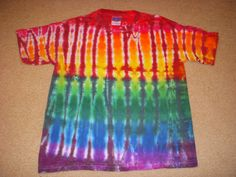 YM tie dye t-shirt, shibori, youth medium 10-12