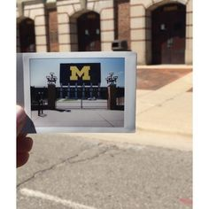 We'd like to think every corner of campus is ready for it's close-up .#GoBlue