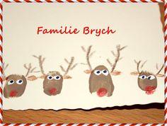 """Zu Weihnachten schreib ich sehr gerne """"echte"""" Post. Besondern schön finde ich selbstgebastelte Karten, die jedes Jahr innen dann noch mit ei..."""