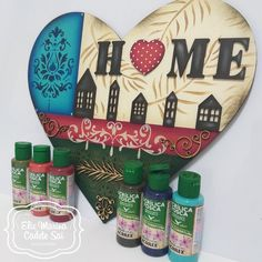 Painted Signs, Painted Rocks, Pallet Boxes, Decoupage Art, Letter A Crafts, Paint Effects, Scroll Saw, Wood Signs, Christmas Crafts