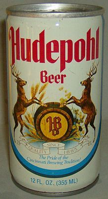 Hudepohl Beer -Cincinnati Brewing Tradition