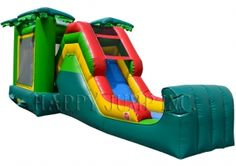 Backyard Jump & Slide Jungle (Wet & Dry)