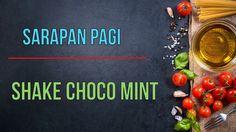 Resep shake Choco mint rendah GI ( Glikemik Indek )