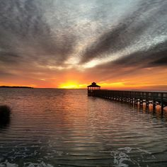 Another beautiful #OBX sunset!