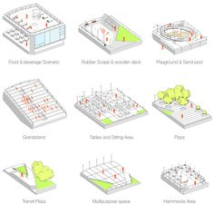 Lucky Coin by Explodes Tradition and Creates Dynamic Public Space . - Lucky Coin by Explodes Tradition and Creates Dynamic Public Space – Landscape Archi - Landscape Architecture Magazine, Architecture Design, Landscape Architects, Architecture Career, Architecture Diagrams, Architecture Portfolio, Landscape Diagram, Urban Landscape, Landscape Design