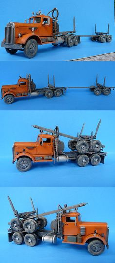 Other Narrow Gauge 9037: O On3 On30 1 48 Wiseman Model Services Modern Version Log Truck Conversion Kit -> BUY IT NOW ONLY: $84.95 on eBay!