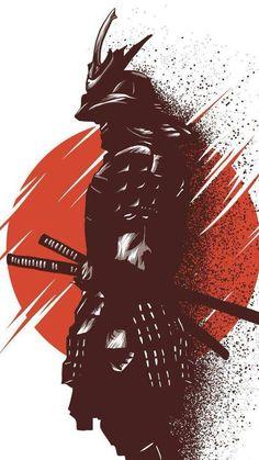 Alphonse (warrior of the riseing sun) - Samurai Arte Ninja, Ninja Kunst, Ninja Art, Japanese Artwork, Japanese Tattoo Art, Japanese Tattoo Samurai, Fantasy Kunst, Fantasy Art, Anime Kunst