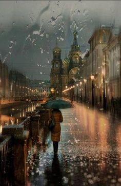 This would so be me.....I love walking in the rain!