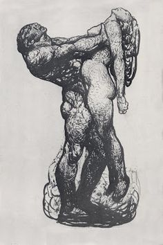 Beautiful an powerfull drawing, Rose O'Neill