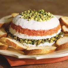 Mascarpone and Goat Cheese Torta with Smoked Salmon Recipe