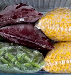 How to Properly Freeze Fresh Summer Vegetables