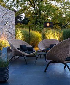Soirée d'été détente avec ce salon de jardin - Mobilier de jardin : le meilleur pour l'été - CôtéMaison.fr