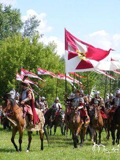 Polish Rota hussars and Hetman by Quenta-Silmarillion.deviantart.com on @deviantART