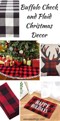 decor essentials decor examples decor yellow decor ideas decor for living room decor going out of style to buy farmhouse decor wholesale decor websites Christmas Decorations For The Home, Christmas Mantels, Plaid Christmas, Christmas Home, Christmas Crafts, Holiday Decor, Christmas Stuff, Christmas Ideas, Joanna Gaines