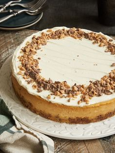 Brown Sugar Caramel Cheesecake