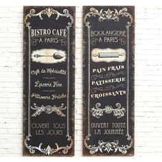 french cafe signs boulangerie sign antique farmhouse 108 liked on polyvore featuring home home decor wall art cafe signs and cafe wall art cafe lighting 8900 marrakech wall