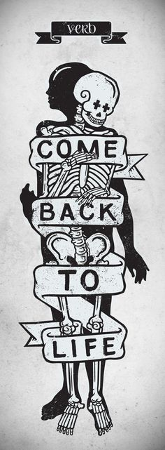 Come Back To Life #illustration #graphic #design