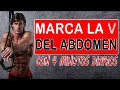 Rutina para marcar la V y abdomen bajo con solo 4 minutos - YouTube