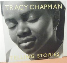 TRACY CHAPMAN DOUBLE SIDED PROMO ALBUM FLAT TELLING STORIES 2000 FIRST TRY