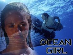 Ocean Girl -- awesome Disney Channel show from early 90s, back when they actually put some effort into their shows...  I still swim like her (undulating whole body with legs moving in sync). I was SO freaking excited to see this on Netflix