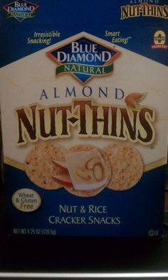 Almond Nut-Thins! It's even in the My Fit Foods plan!---use in my DIY My Fit Foods snacks