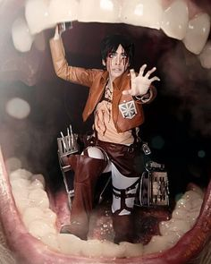 Anime: Attack On Titan  Personagem: Eren Jaeger #cosplay #cosplayers #attackontitancosplay #attackontitan #erenjaeger #erenjaegercosplay #animecosplay