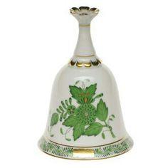 Zvonek •porcelán, Herendi