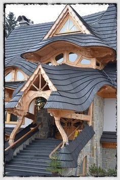 Stunning roof work in Zakopane, Poland