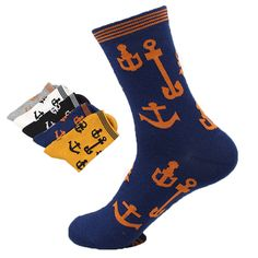 Cheap anchor size, Buy Quality sock ankle directly from China sock Suppliers: Boat anchor socks Men style Material: cotton One size fit EU 39-44 or US 7-9.5 Package: one pack with 5 p