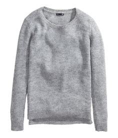 Grey plain sweater   H&M CL