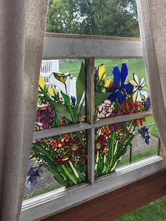 Mosaic Window Blooms