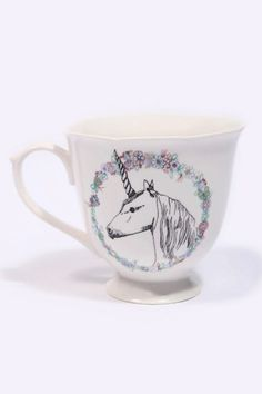Dear Prudence For Urban Outfitters Unicorn Mug  Urban Exclusive  £15.00
