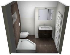 Idee Badkamer Klein : Een kleine badkamer groot laten lijken