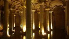 The Basilica Cisterns, İstanbul.