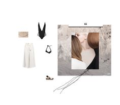 """""""Nudes and black!"""" by aumorfia ❤ liked on Polyvore featuring Amanda Wakeley, Topshop, ALDO and Urban Expressions"""